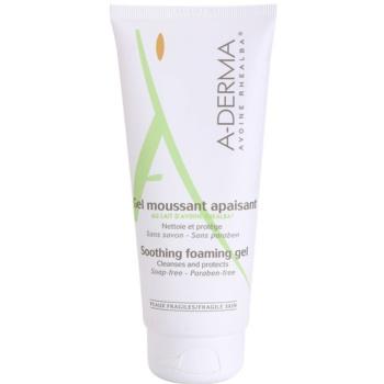 A-Derma Original Care gel in schiuma per pelli sensibili (Soap-Free, Paraben-Free) 200 ml