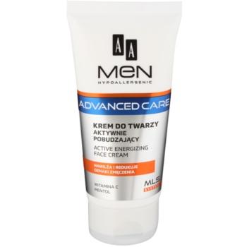 AA Cosmetics Men Advanced Care crema energizzante per il viso 75 ml
