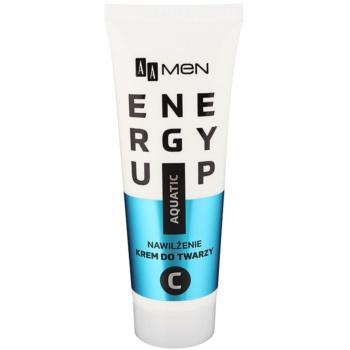AA Cosmetics Men Energy Up crema idratante e rivitalizzante intensa per il viso (Isotonic complex; Vitamin C) 50 ml