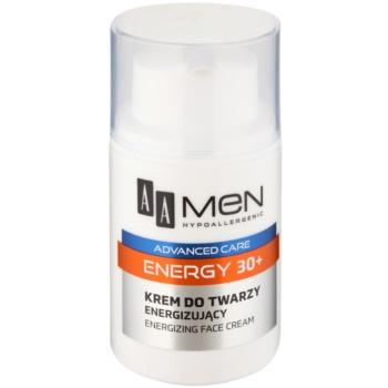 AA Cosmetics Men Energy 30+ crema energizzante per il viso 50 ml