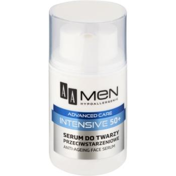 AA Cosmetics Men Intensive 50+ siero contro l'invecchiamento della pelle 50 ml