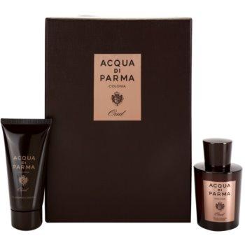 Acqua di Parma Colonia Oud kit regalo I. EDC + SWG acqua di Colonia 100 ml + gel doccia 75 ml