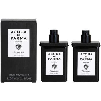 Acqua di Parma Colonia Essenza acqua di Colonia per uomo 2x30 ml (2x ricariche con diffusore)