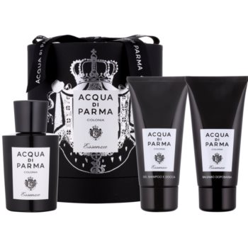 Acqua di Parma Colonia Essenza kit regalo II acqua di Colonia 100 ml + gel doccia 75 ml + balsamo post-rasatura 75 ml