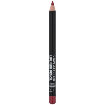 Affect Shape & Colour matita contouring per le labbra colore Wild Rose (Matt - Long Lasting)