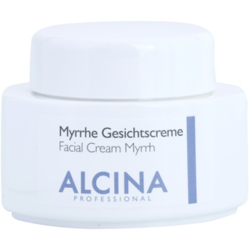 Alcina For Dry Skin Myrrh crema viso effetto antirughe (Nourishes Particularly Dry Skin Areas) 100 ml