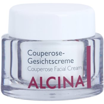 Alcina For Sensitive Skin crema rinforzante per capillari dilatati e rotti (Couperose Facial Cream) 50 ml