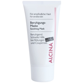 Alcina For Sensitive Skin maschera lenitiva effetto immediato 50 ml