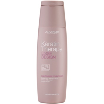 Alfaparf Milano Lisse Design Keratin Therapy balsamo nutriente senza solfati e parabeni (Maintenance Conditioner) 250 ml