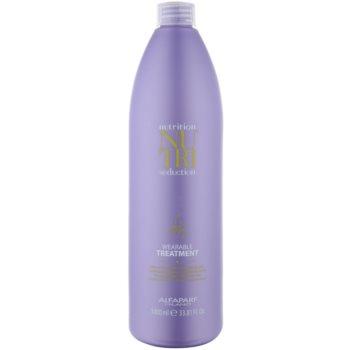 Alfaparf Milano Nutriseduction balsamo senza risciacquo per capelli rovinati e secchi (Wearable Treatment for Extremely Dry Hair) 1000 ml