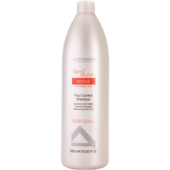 Alfaparf Milano Semí Dí Líno Discipline shampoo per capelli ribelli e crespi (Frizz Control Shampoo) 1000 ml