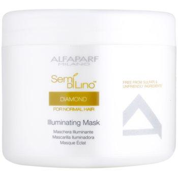 Alfaparf Milano Semí Dí Líno Diamante Illuminating maschera per la brillantezza (Mask) 500 ml