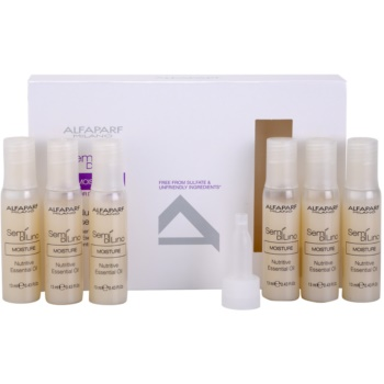 Alfaparf Milano Semí Dí Líno Moisture olio nutriente per capelli secchi (Nutritive Essential Oil) 6 x 13 ml