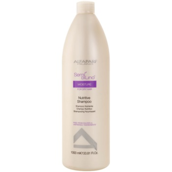 Alfaparf Milano Semí Dí Líno Moisture shampoo nutriente per capelli secchi (Nutritive Shampoo) 1000 ml