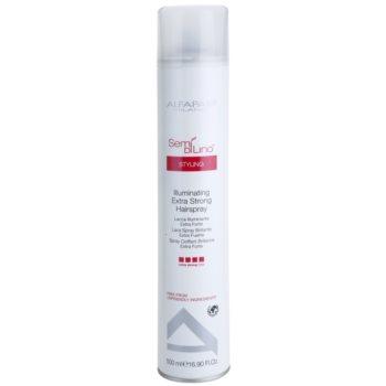 Alfaparf Milano Semí Dí Líno Styling lacca per capelli fissante extra forte (Illuminating Hairspray) 500 ml