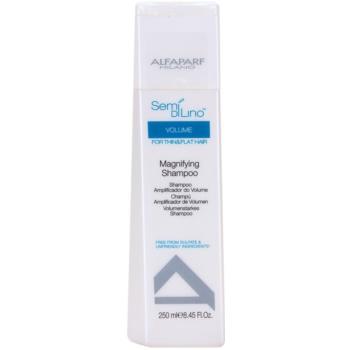 Alfaparf Milano Semí Dí Líno Volume shampoo volumizzante per capelli delicati e mosci (Magnifying Shampoo for Thin and Flat Hair ) 250 ml