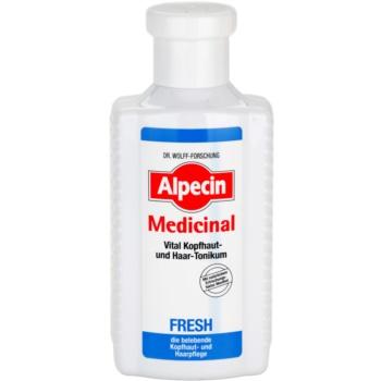 Alpecin Medicinal Fresh lozione tonica rinfrescante per cuoi capelluti grassi 200 ml