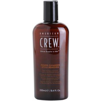 American Crew Classic shampoo detergente per uso quotidiano (Power Cleanser Style Remover) 250 ml