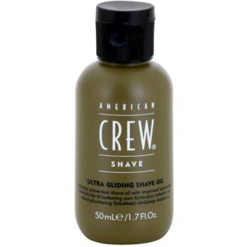 American Crew Shave olio per rasatura contro irritazioni e prurito (Ultra Gliding Shave Oil) 50 ml