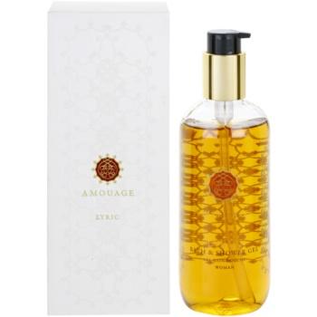 Amouage Lyric gel doccia per donna 300 ml