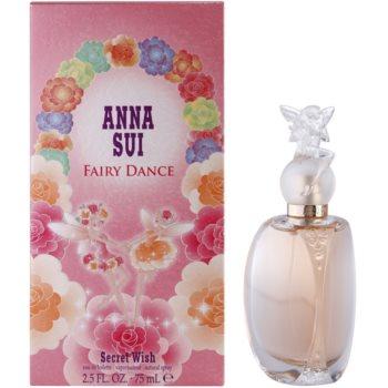 Anna Sui FairyDanceSecret Wish eau de toilette per donna 75 ml