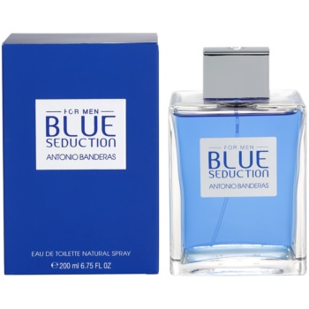 Antonio Banderas Blue Seduction eau de toilette per uomo 200 ml