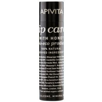 Apivita Lip Care Honey balsamo rigenerante per labbra (Bio-Eco Product, 100% Natural Derived Ingredients) 4,4 g