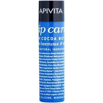 Apivita Lip Care Cocoa Butter balsamo labbra idratante intenso SPF 20 (Organic Beeswax & Olive Oil) 4,4 g