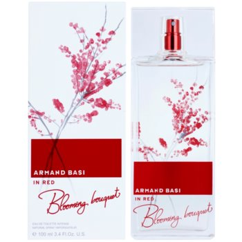 Armand Basi In Red Blooming Bouquet eau de toilette per donna 100 ml