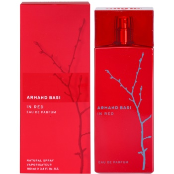 Armand Basi In Red eau de parfum per donna 100 ml