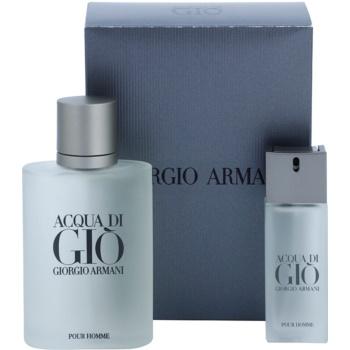 Armani Acqua di Gio Pour Homme kit regalo XXII eau de toilette 100 ml + eau de toilette 20 ml