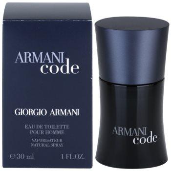 Armani Code eau de toilette per uomo 30 ml