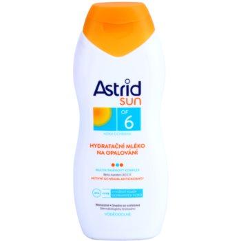 Astrid Sun latte abbronzante idratante SPF 6 (Waterproof, Beta-carotene, UVA+UVB) 200 ml