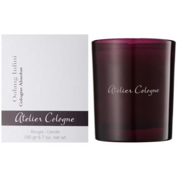 Atelier Cologne Oolang Infini candela profumata 190 g