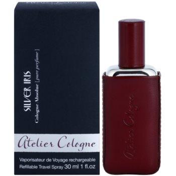 Atelier Cologne Silver Iris kit regalo profumo 30 ml + cofanetto in pelle