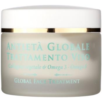 Athena's l'Erboristica Global Anti-Aging crema viso al fitocollagene antirughe (Omega 3, Omega 6) 50 ml