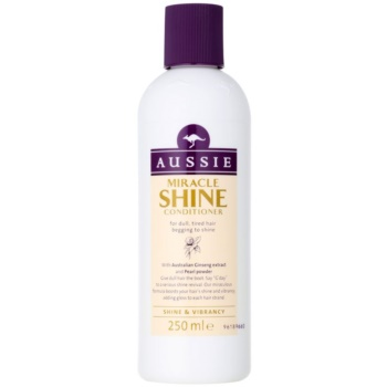 Aussie Miracle Shine balsamo per capelli opachi e stanchi (With Australian Ginseng Extract and Pearl Powder) 250 ml