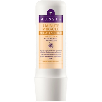 Aussie Miracle Nourish maschera nutriente tre minuti per capelli (with Avocado Oil and Eucalyptus Extract) 250 ml