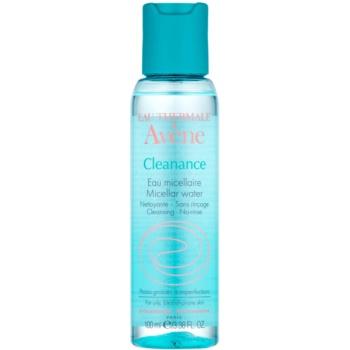 Avene Cleanance lozione micellare detergente per pelli problematiche, acne (Eau Nettoyante) 100 ml