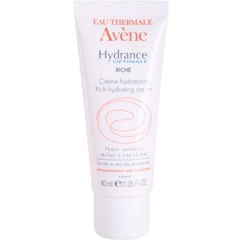Avene Hydrance crema idratante per pelli secche e molto secche (Rich Hydrating Cream) 40 ml