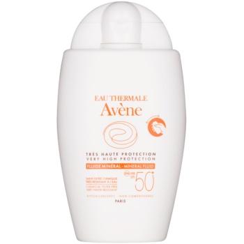 Avene Sun Mineral siero protettivo senza filtri chimici SPF 50+ (Hypoallergenic, Non Comedonic) 40 ml