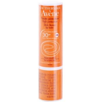 Avene Sun Sensitive balsamo protettivo labbra SPF 30 (Very Water-Resistant, Hypoallergenic, Non-Comedogenic) 3 g