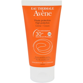 Avene Sun Sensitive crema abbronzante SPF 30 (Very Water-Resistant, Hypoallergenic, Non-Comedogenic) 50 ml