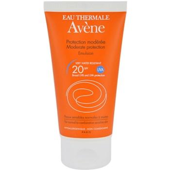 Avene Sun Sensitive emulsione solare SPF 20 (Very Water-Resistant, Hypoallergenic, Non-Comedogenic) 50 ml