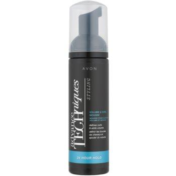 Avon Advance Techniques 24 Hour Hold fissante in schiuma per capelli mossi 150 ml