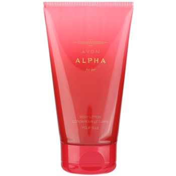 Avon Alpha For Her latte corpo per donna 150 ml