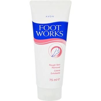 Avon Foot Works Classic crema esfoliante per talloni (Rough Skin Remover) 75 ml