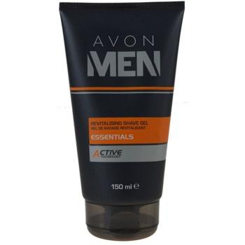 Avon Men Essentials gel rivitalizzante per rasatura (Revitalising Shave Gel) 150 ml