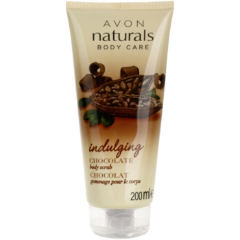 Avon Naturals Body scrub corpo con cioccolata (Chocolate Body Scrub) 200 ml