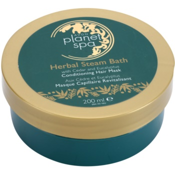 Avon Planet Spa Herbal Steam Bath maschera per capelli nutriente con cedro ed eucalipto 200 ml